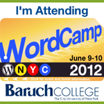 WordCamp NYC Badge