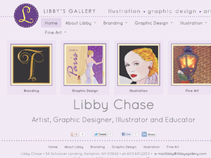 Graphic Designer, Illustrator & Educator | Libby's Gallery