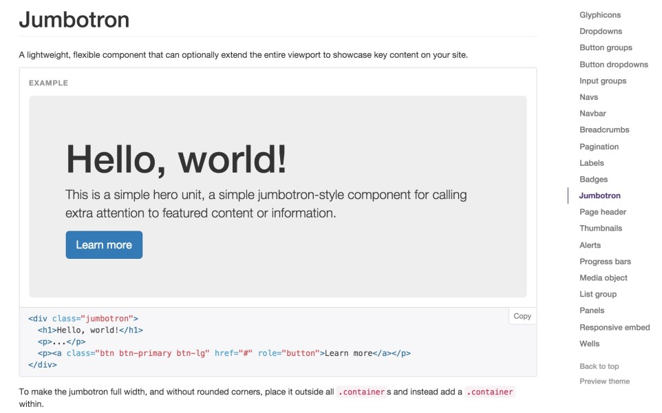 Including Bootstrap or another CSS framework in a theme is a common example of codeitis