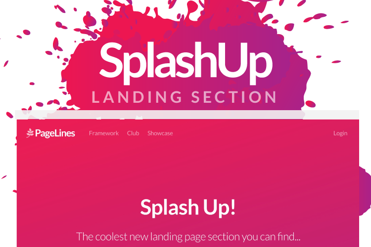 SplashUp Screenshot